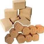 Dřevěné brikety nabízí spousty výhod