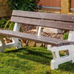 Venkovní lavičky musí být odolné vůči vnějším vlivům