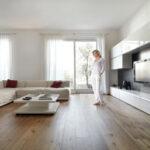 O čerstvý vzduch se v dvoupodlažním rodinném domě stará větrací jednotka nové generace Zehnder ComfoAir Q